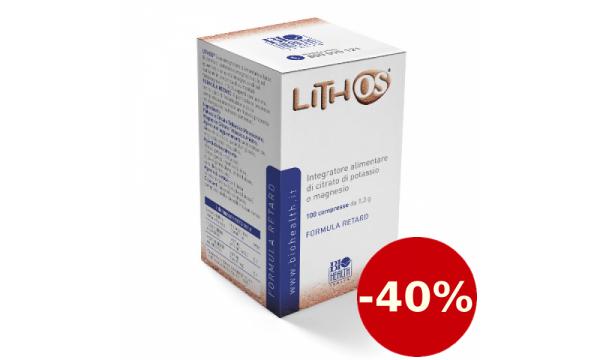 Lithos 100 tablečių + 10 šlapimo pH nustatymo juostelių