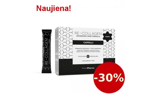 Re-Collagen Advanced Hair Formula vyrams